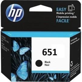 C2P10AE - HP 651 Black Cartridge Ink, 600 Pages